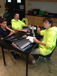 finding density of solids t2 science class