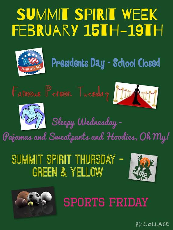 Summit Spirit Week
